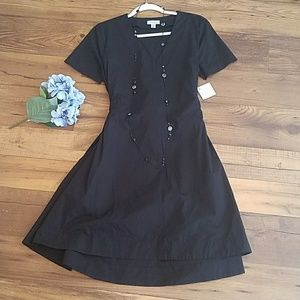 NWT Halogen Double Tie-Back Dress